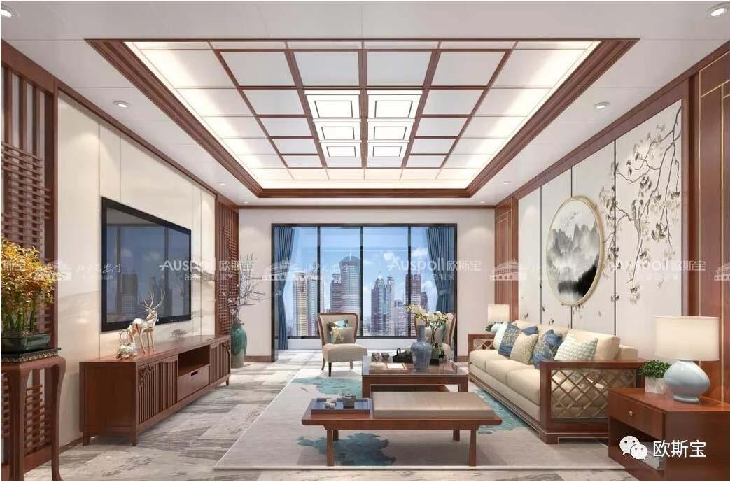 突破空間限制,提供客廳,餐廳,書房,過道,陽臺等所有居家空間吊頂的