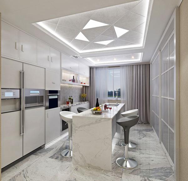简约风格厨房空间
