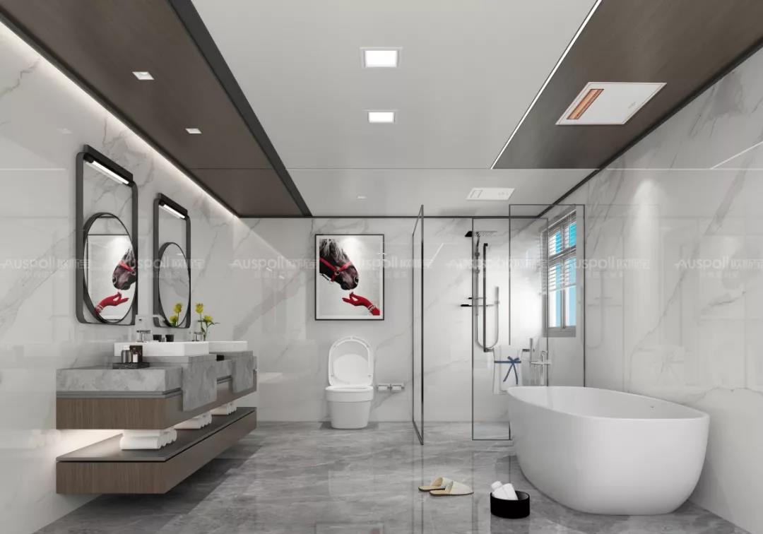 浴室體驗暖空調